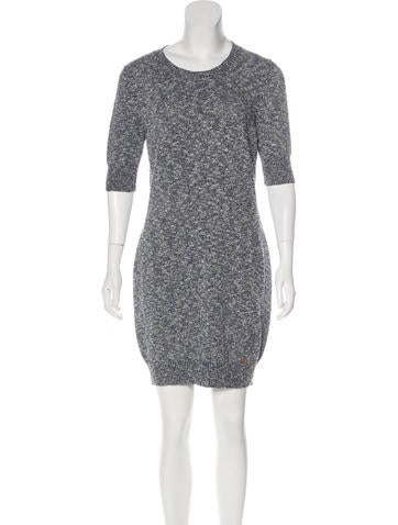 Gucci Short Sleeve Knit Dress None