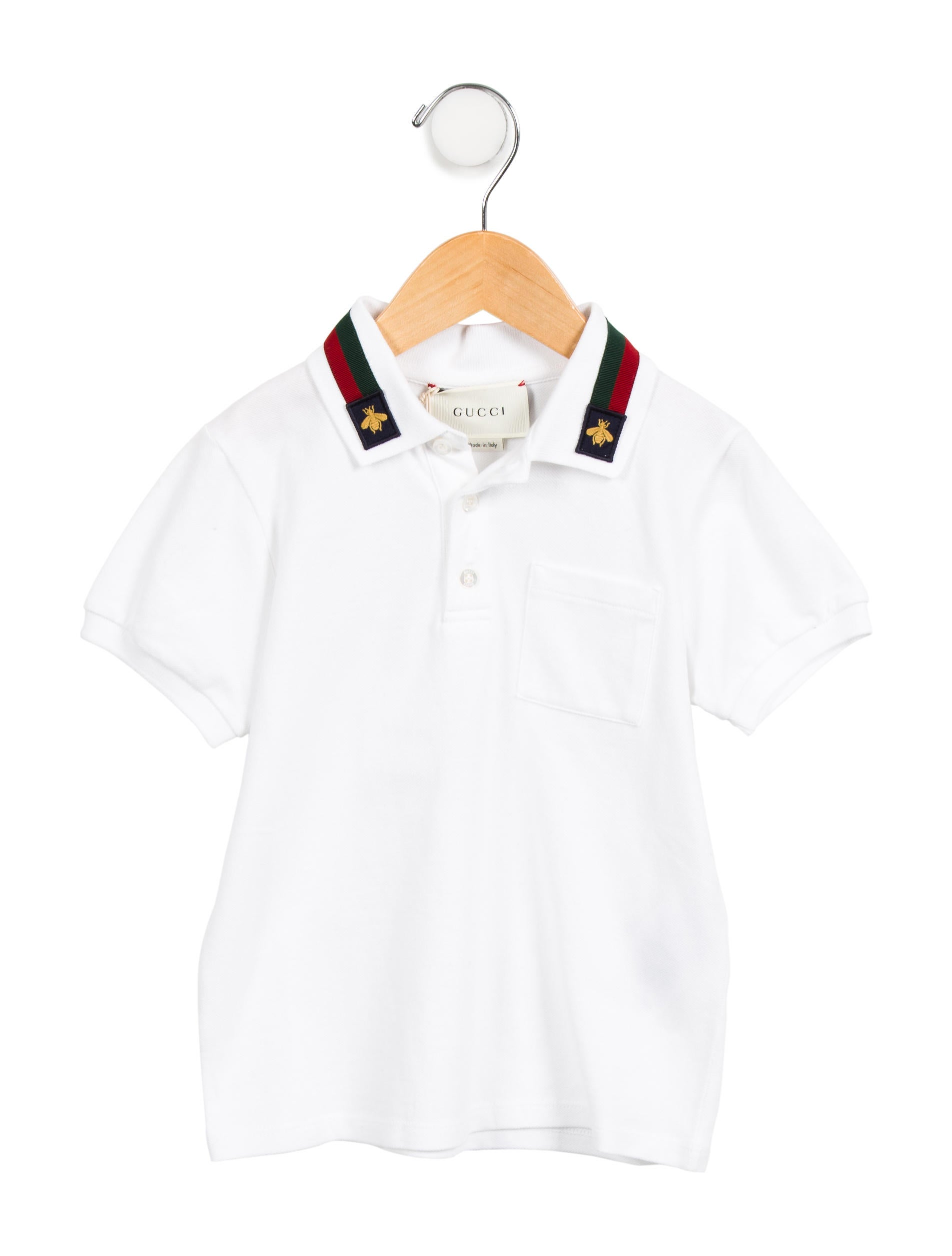 4579f060ce8 Gucci Boys  Bee Polo Shirt w  Tags - Boys - GUC188089