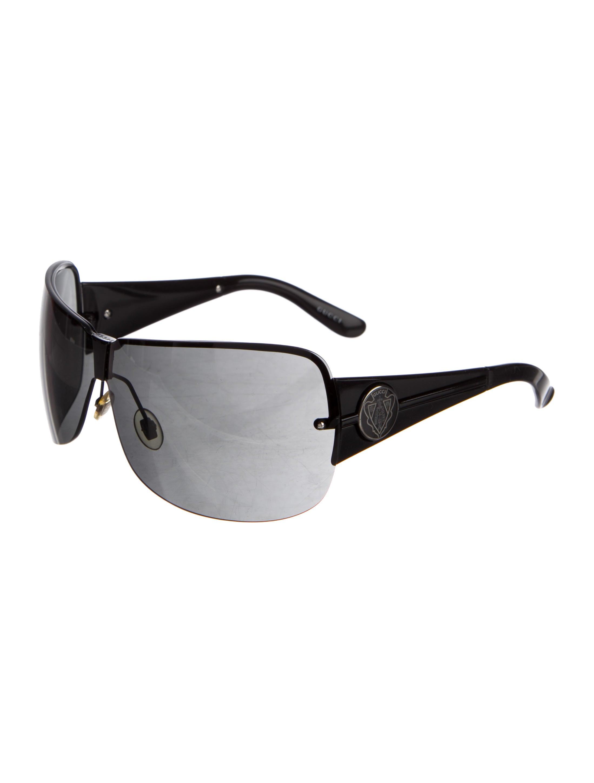 340a149ded1 Gucci Rimless Shield Sunglasses « One More Soul