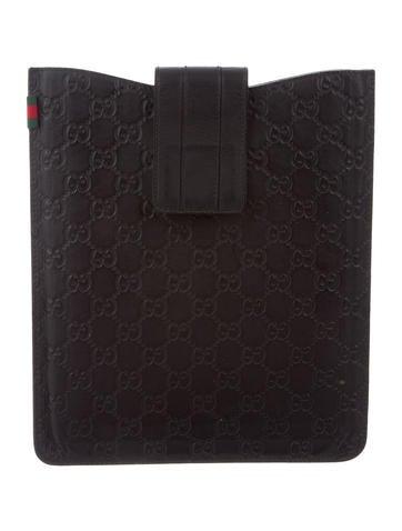 Gucci Guccissima iPad Case None
