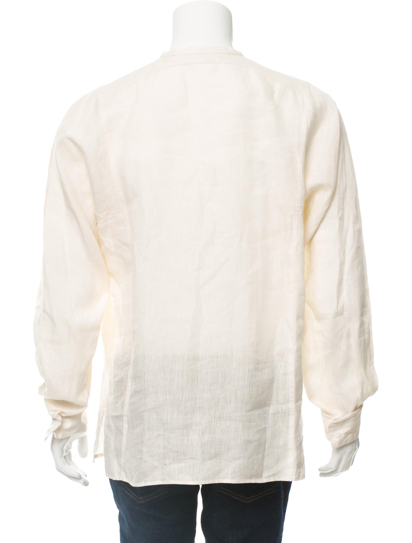 Gucci linen long sleeve shirt clothing guc189597 the for Linen long sleeve shirt