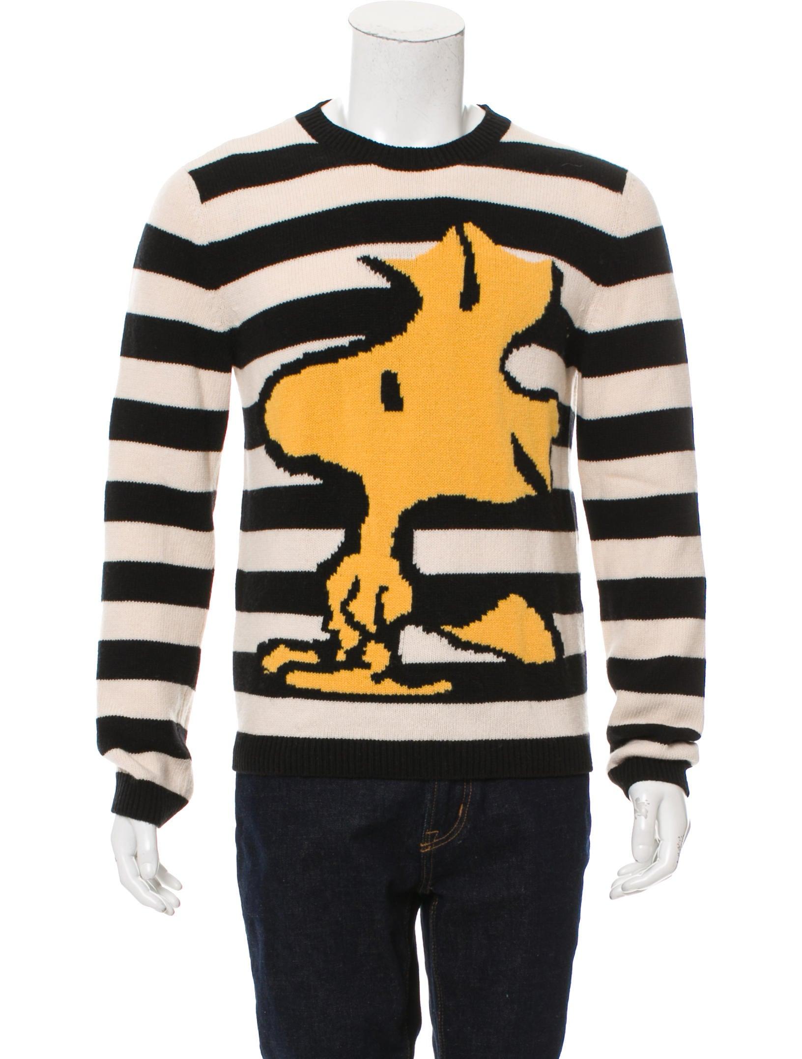 8fa2a72e705 Gucci Peanuts Wool Sweater - Clothing - GUC189633