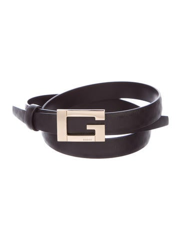 Leather Guccissima Belt