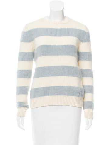 Gucci Striped Wool Sweater None