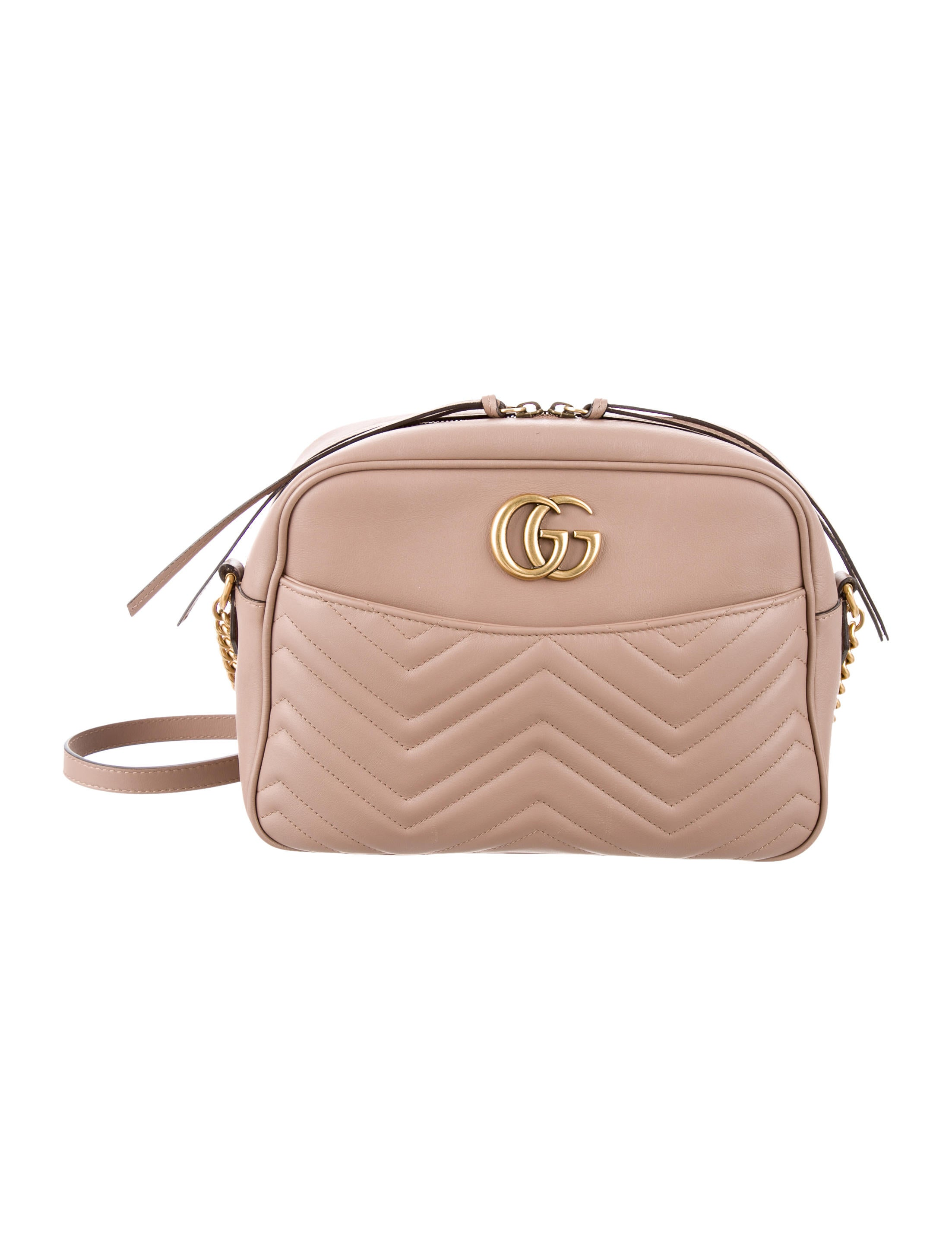 e4c929efccd3 Gucci GG Marmont Medium Matelassé Shoulder Bag - Handbags ...