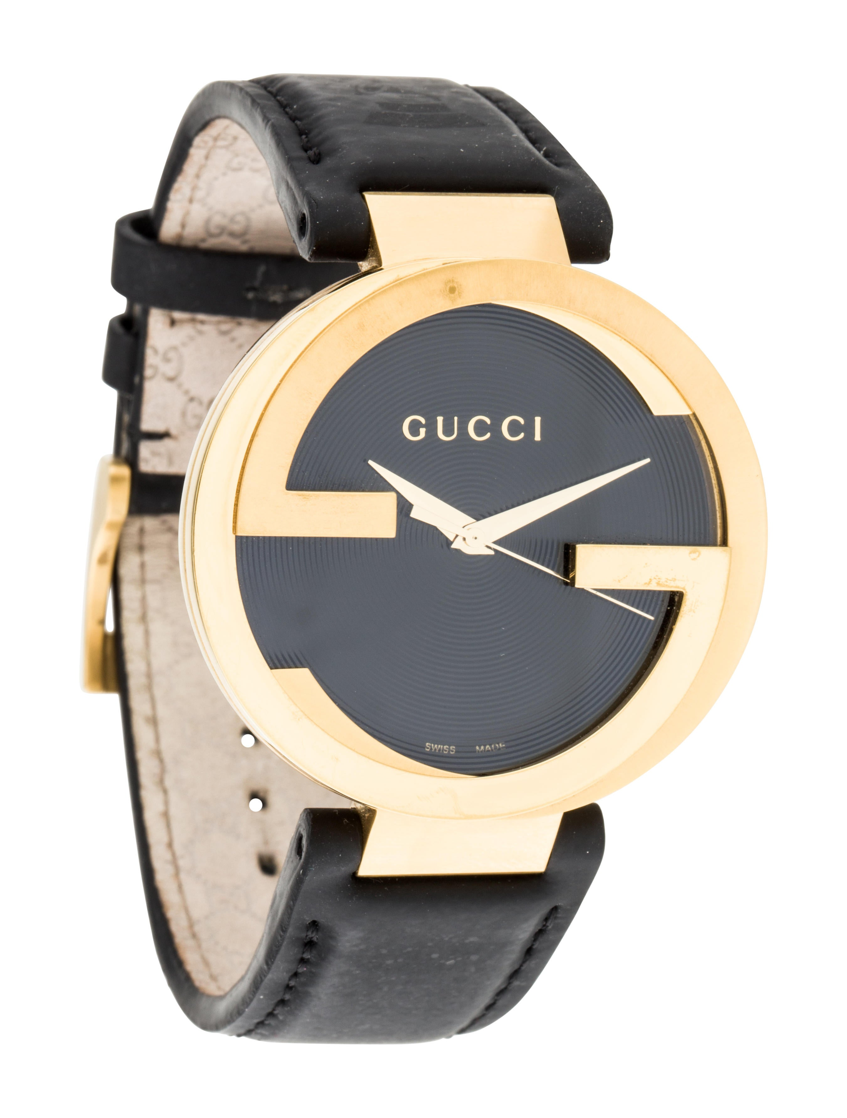 5d3dce4e327 Gucci Interlocking Latin Grammy Special Edition Watch - Strap ...