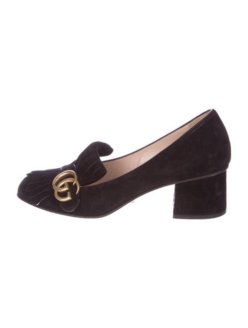 cf19a05e9 Gucci Marmont Kiltie Pumps - Shoes - GUC191136 | The RealReal
