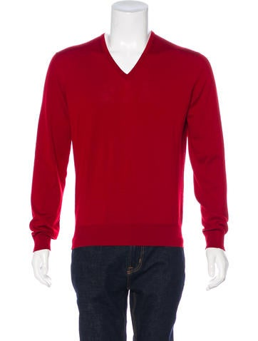 Gucci Wool V-Neck Sweater None