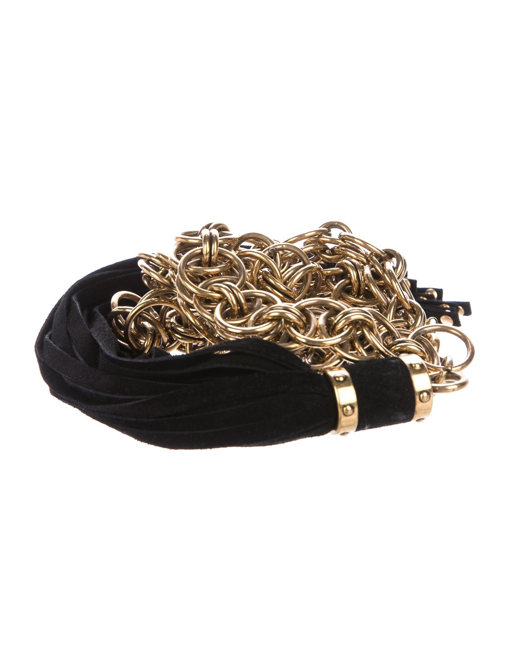 899e37cb8c1 Gucci Chain Tassel Belt - Accessories - GUC191789