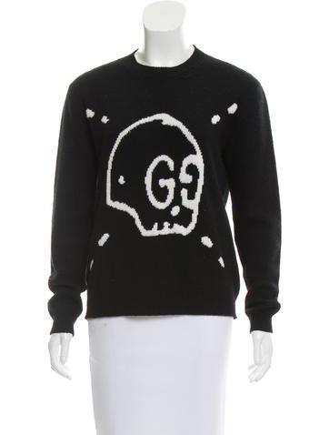 Gucci Wool Gucci Ghost Sweater None