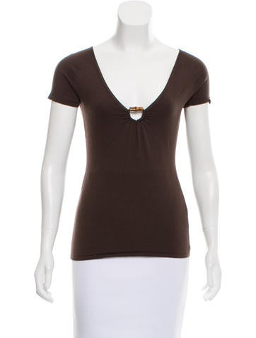 Gucci Wool-Blend Knit Top None