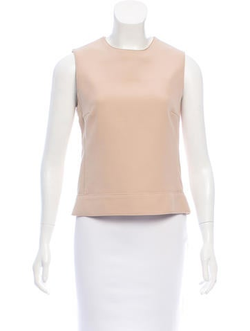 Gucci Sleeveless Wool Top None