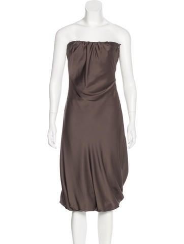 Gucci Strapless Mini Dress None