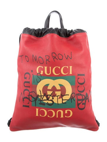 Gucci 2017 Coco Capitan Logo Backpack None