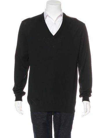 Gucci Web-Trimmed Wool Sweater None