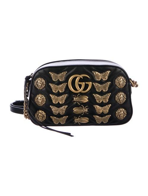 5d08413ec6bdce Gucci 2017 Small GG Marmont Animal Studs Shoulder Bag - Handbags ...