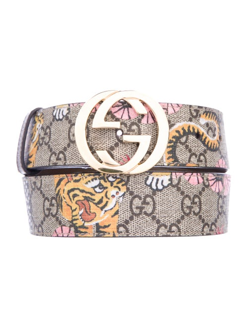 68a88cd17 Gucci GG Supreme Bengal Belt - Accessories - GUC195214 | The RealReal