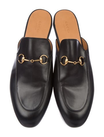 Leather Princetown Mules