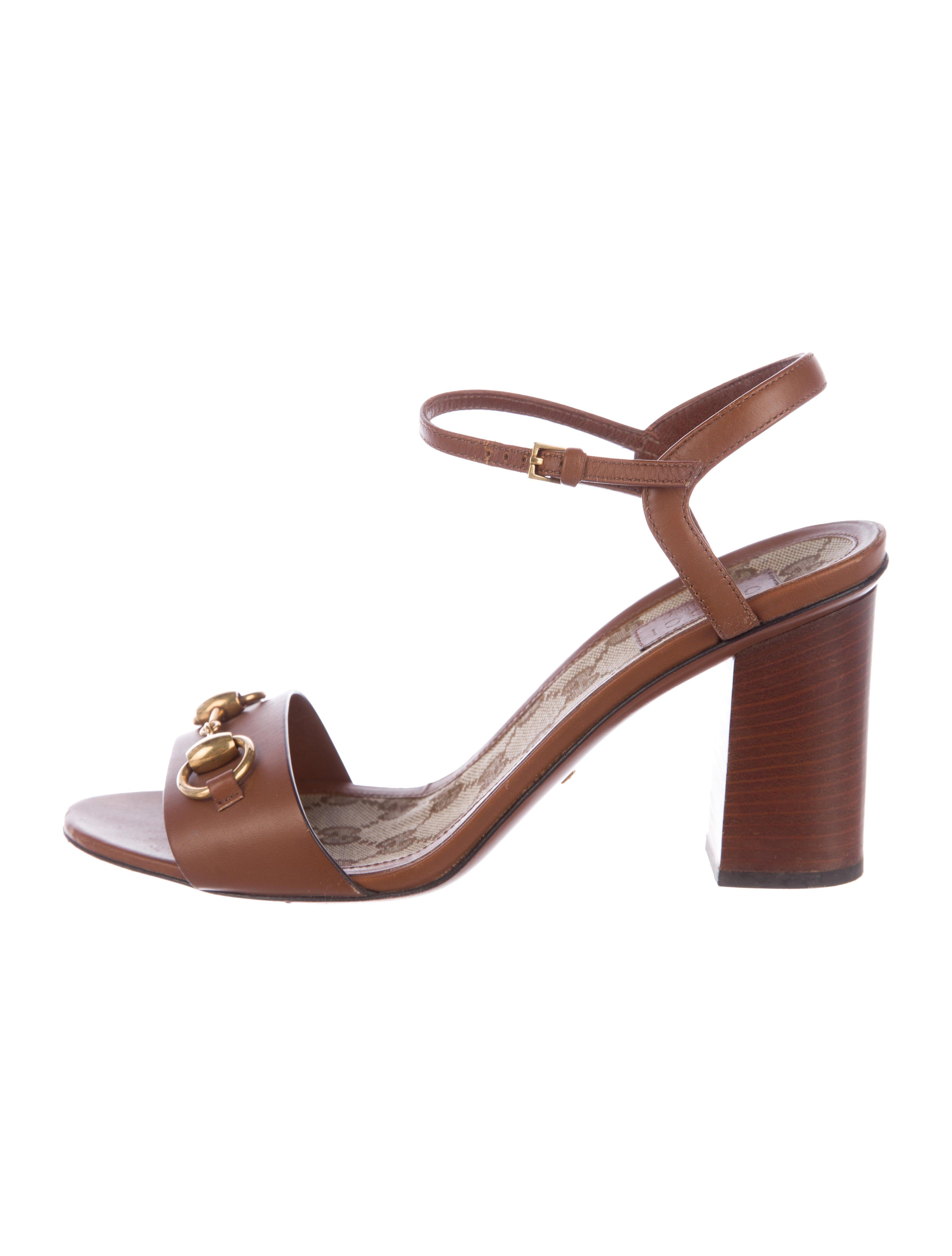 ed60b95bdb69 Gucci Lifford Horsebit Sandals - Shoes - GUC195380