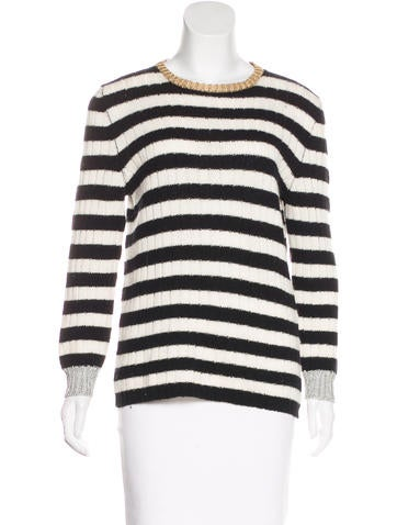 Gucci Merino Wool & Cashmere-Blend Sweater None