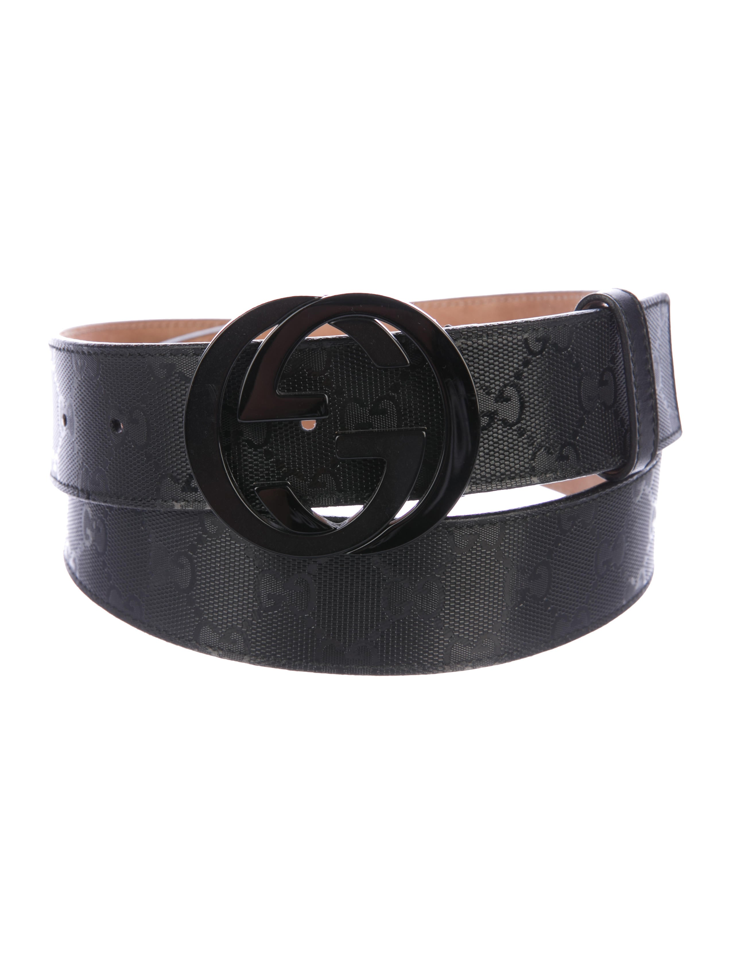 1daf61cf973 Gucci GG Imprimé Belt - Accessories - GUC197230