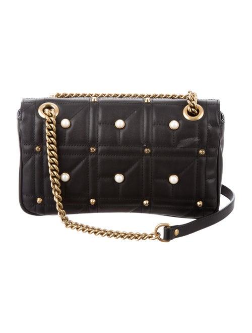 5513a5ac5997 Gucci GG Marmont Matelassé Imitation Pearl Leather Shoulder Bag ...