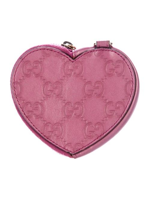 2615c6ef11cf Gucci Guccissima Heart Coin Pouch - Accessories - GUC198376   The ...