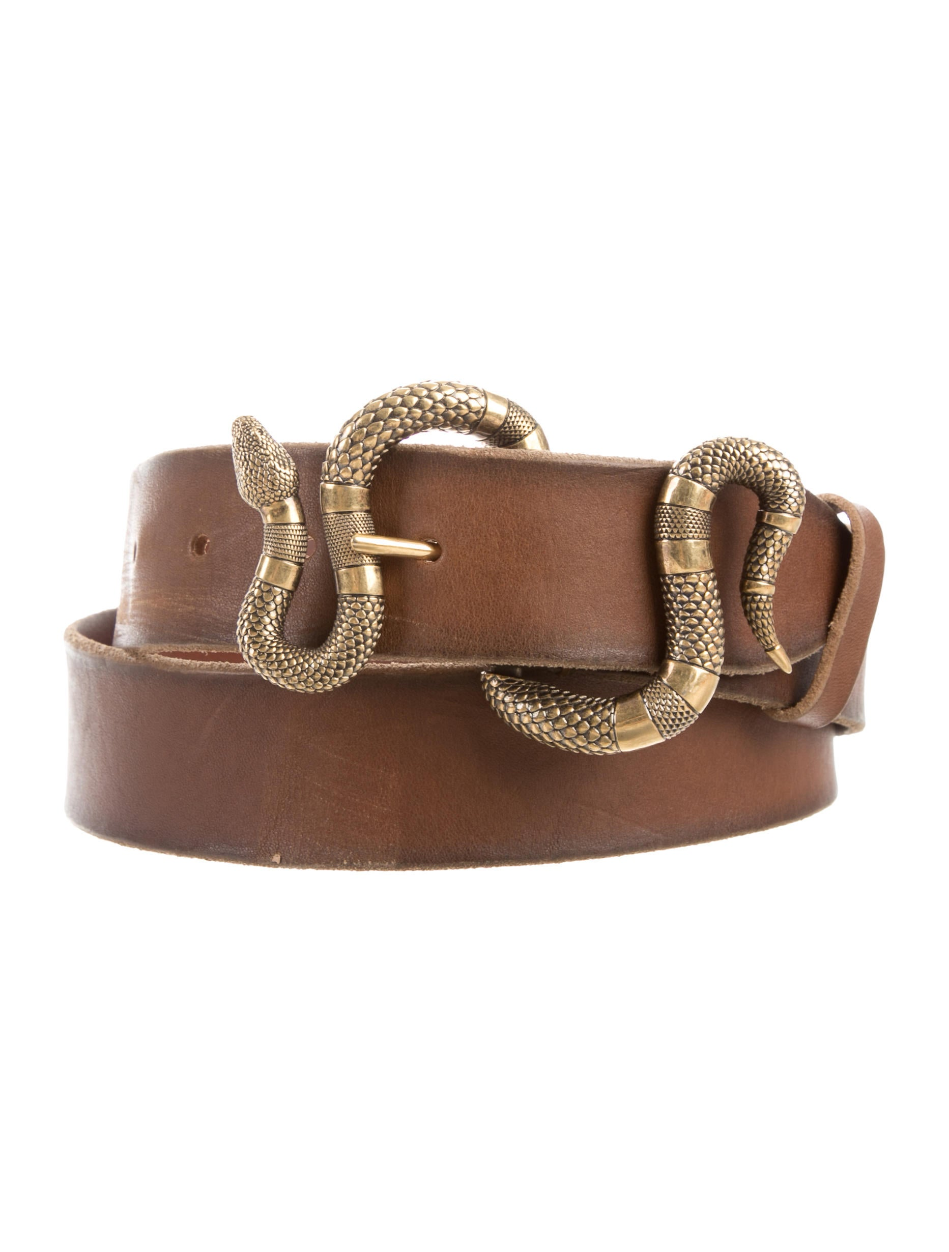 51a5ea4ae Gucci 2017 Snake Buckle Leather Belt - Accessories - GUC198401   The ...