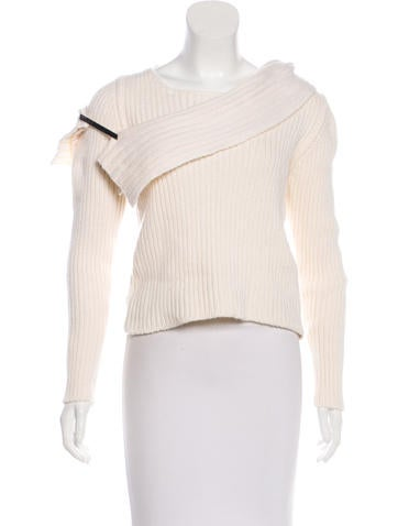 Gucci Cashmere Rib Knit Sweater None