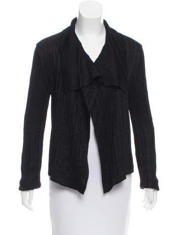 Gucci Long Sleeve Knit Cardigan None