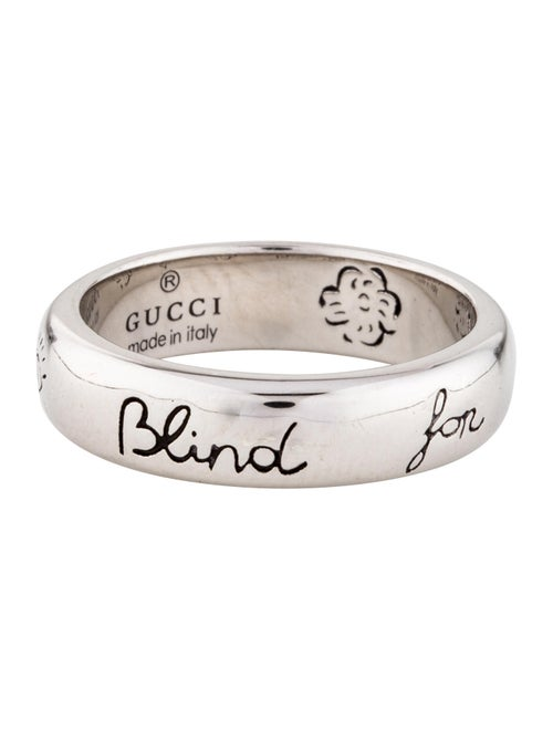 0b963f4ea Gucci Blind For Love Ring - Rings - GUC199499 | The RealReal