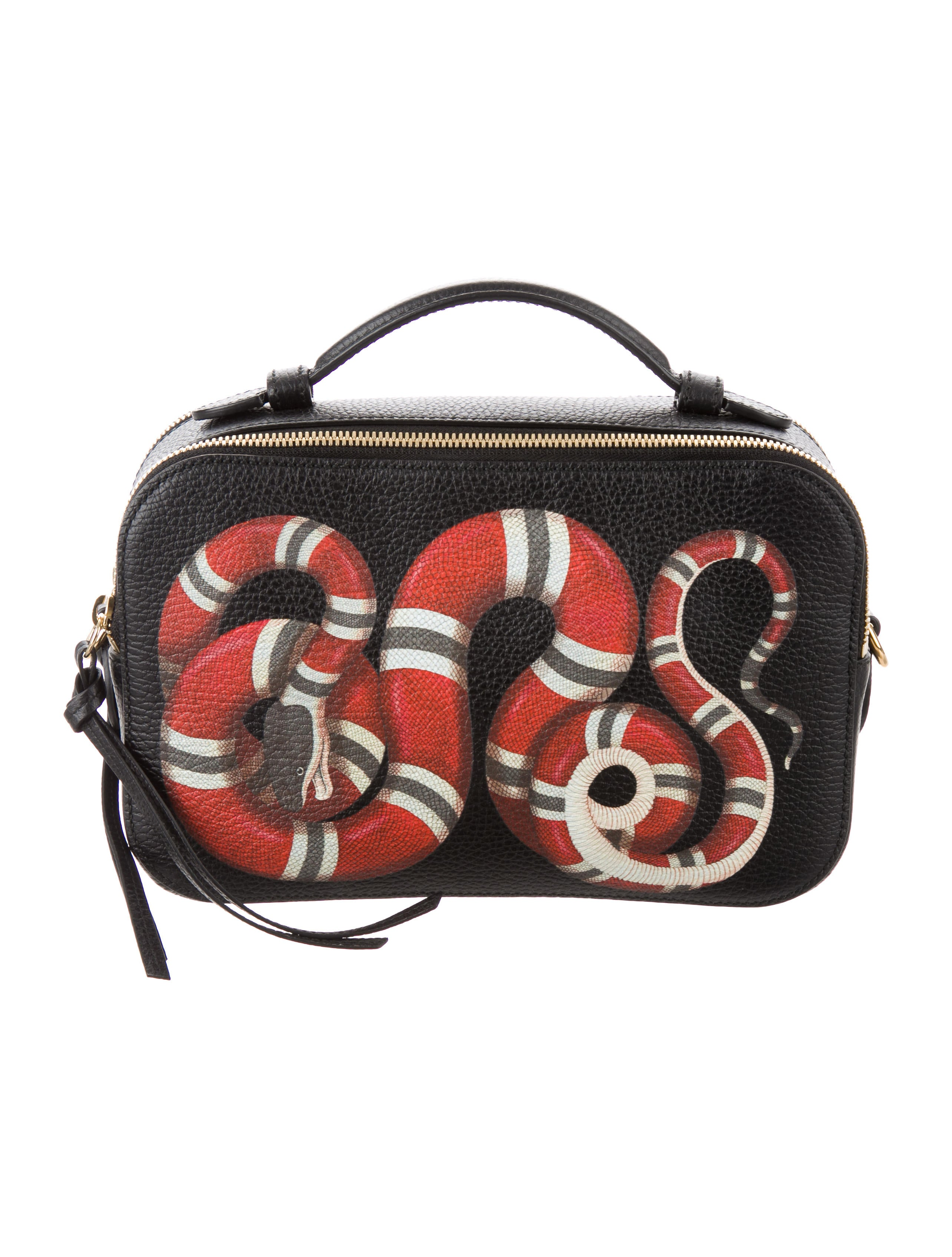 8cf7b2126 Gucci Kingsnake Shoulder Bag - Handbags - GUC199546 | The RealReal