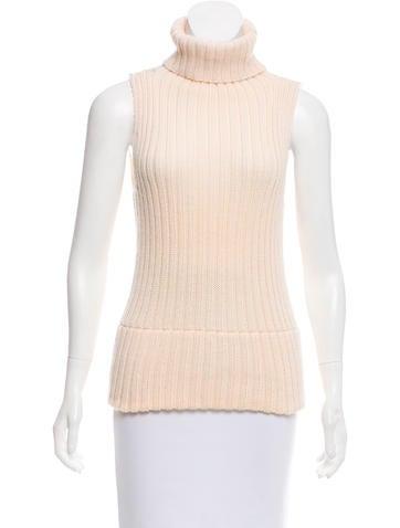 Gucci Wool Sleeveless Sweater None