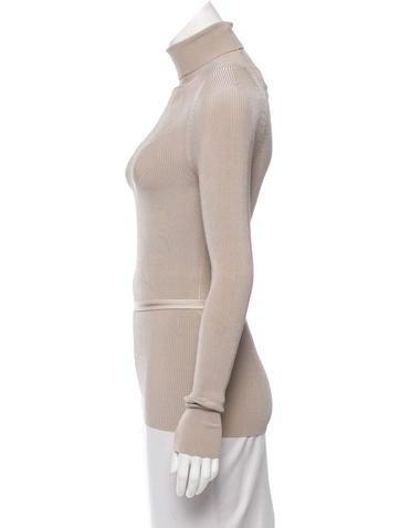 Belted Knit Turtleneck w/ Tags