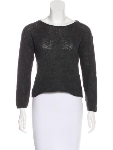 Gucci Knit Crop Sweater None
