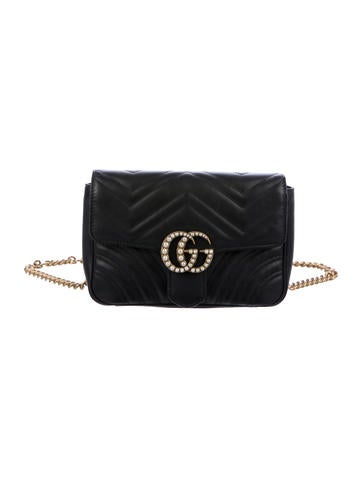 cb12e17f5f86 Gucci Marmont Belt Bag Pearl | Stanford Center for Opportunity ...