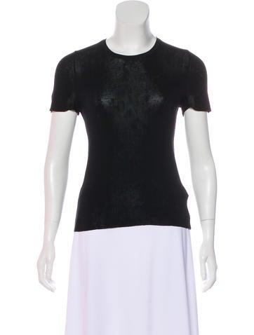 Gucci Silk Short Sleeve Top None