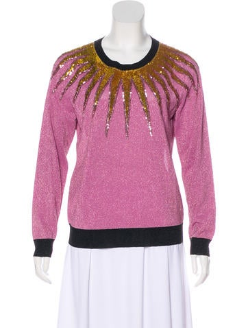 Gucci 2016 Embellished Sweater None