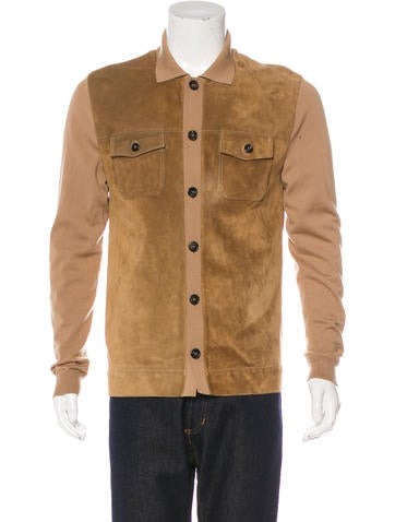 Gucci Wool & Suede Jacket None