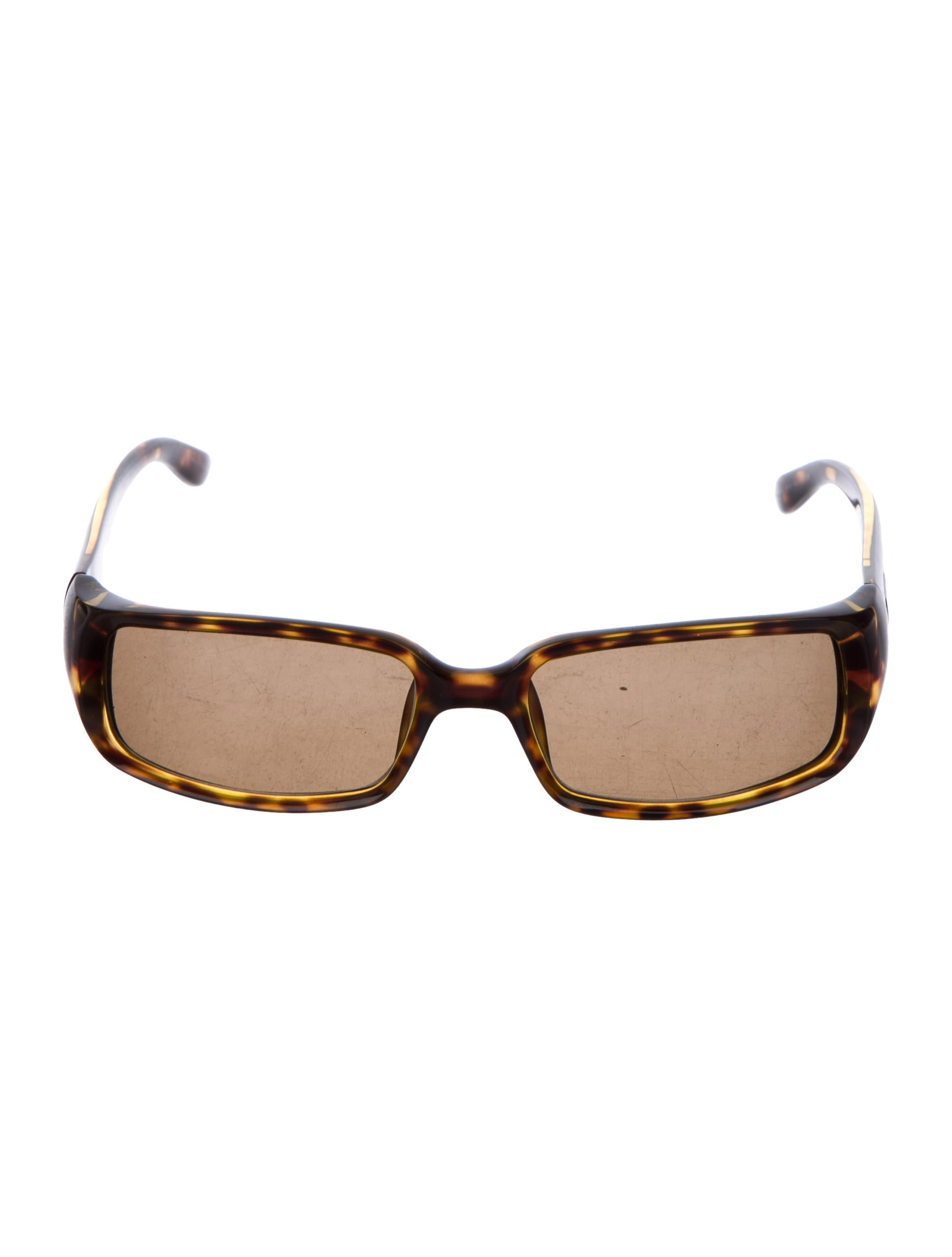 Gucci Tinted Rectangular Frames - Accessories - GUC204654 | The RealReal