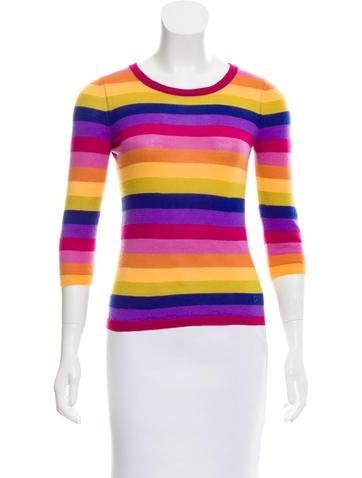 Gucci Cashmere Striped Sweater None