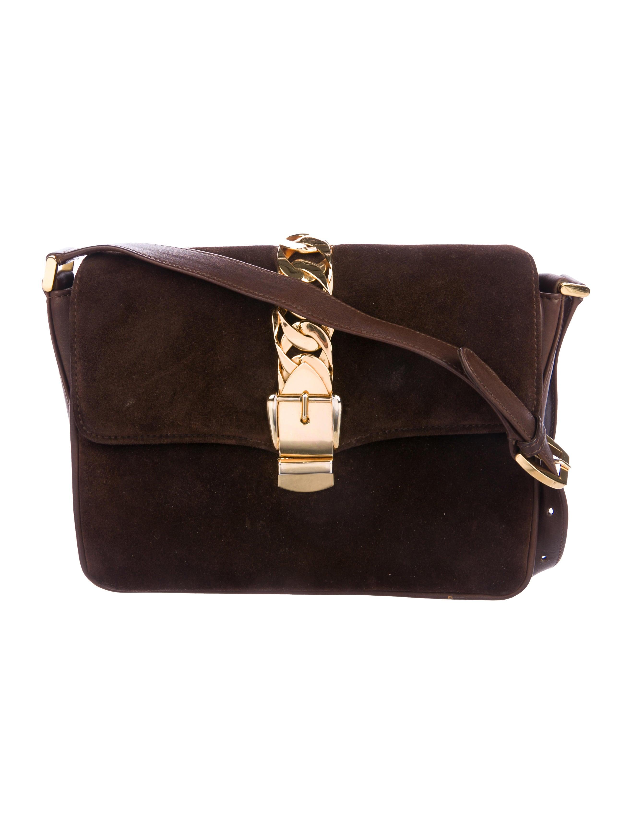 ae0135a1800c Gucci Webby Bee Embroidered Web Crossbody Bag - Handbags - GUC127175 ...