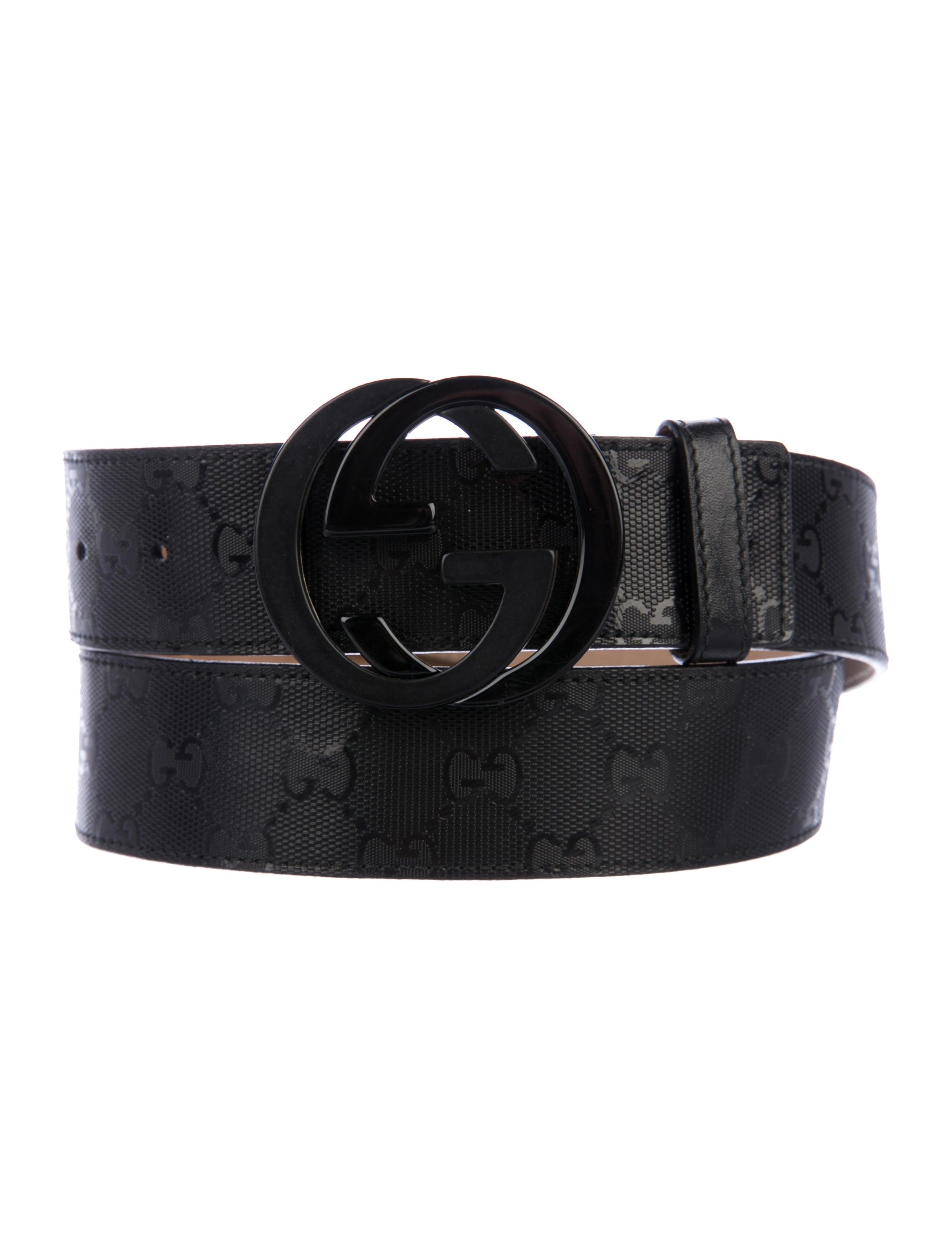 1632433426b Gucci GG Imprimé Belt - Accessories - GUC206289