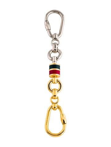 gucci-vintage-web-keychain by gucci