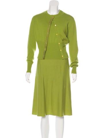Gucci Three-Piece Cashmere Skirt Set None