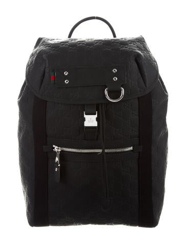 Gucci Rubber Guccissima Backpack None