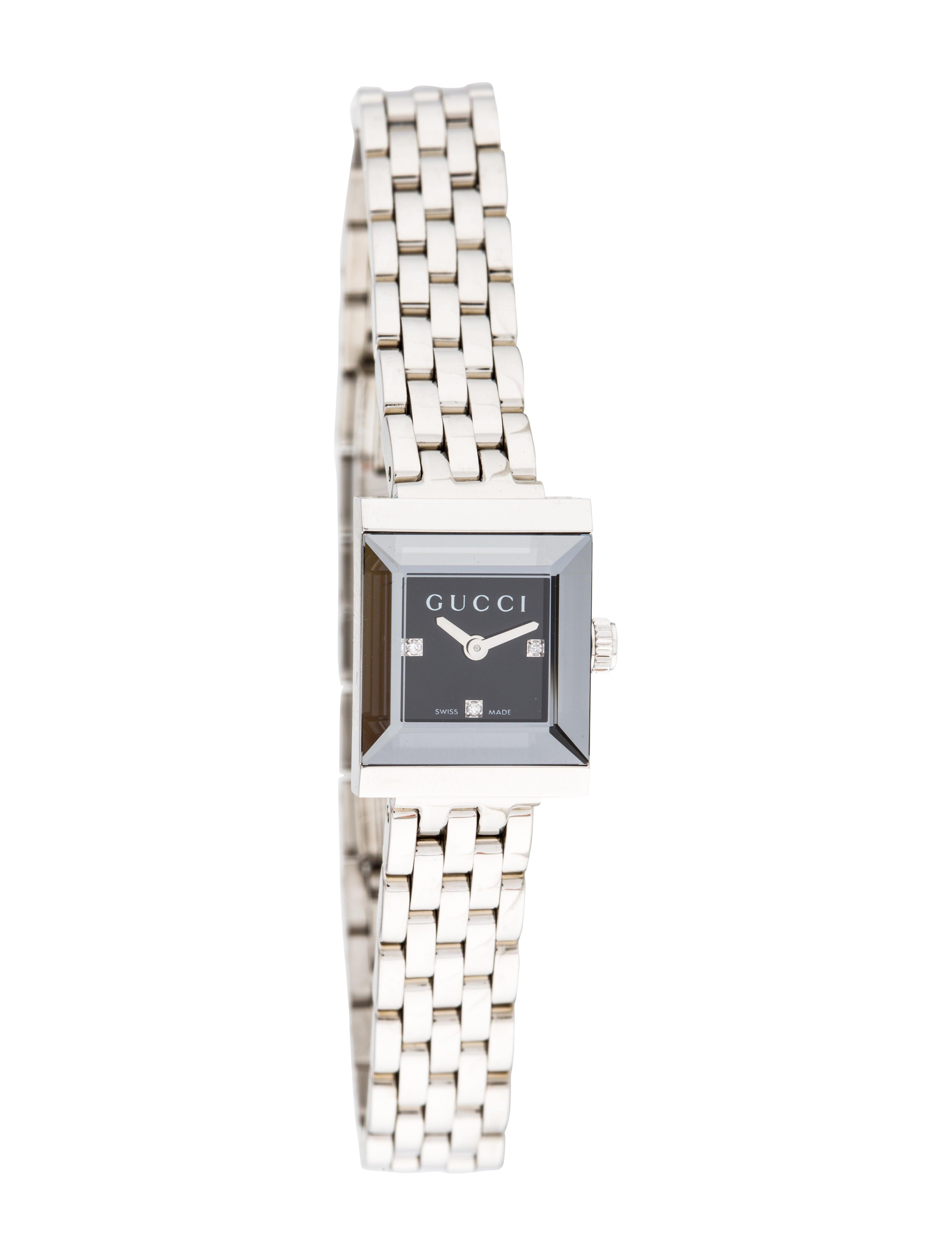464c08049f4 Gucci G Frame Watch - Bracelet - GUC208921