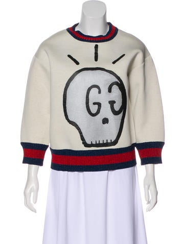 Gucci 2016 GucciGhost Sweatshirt None