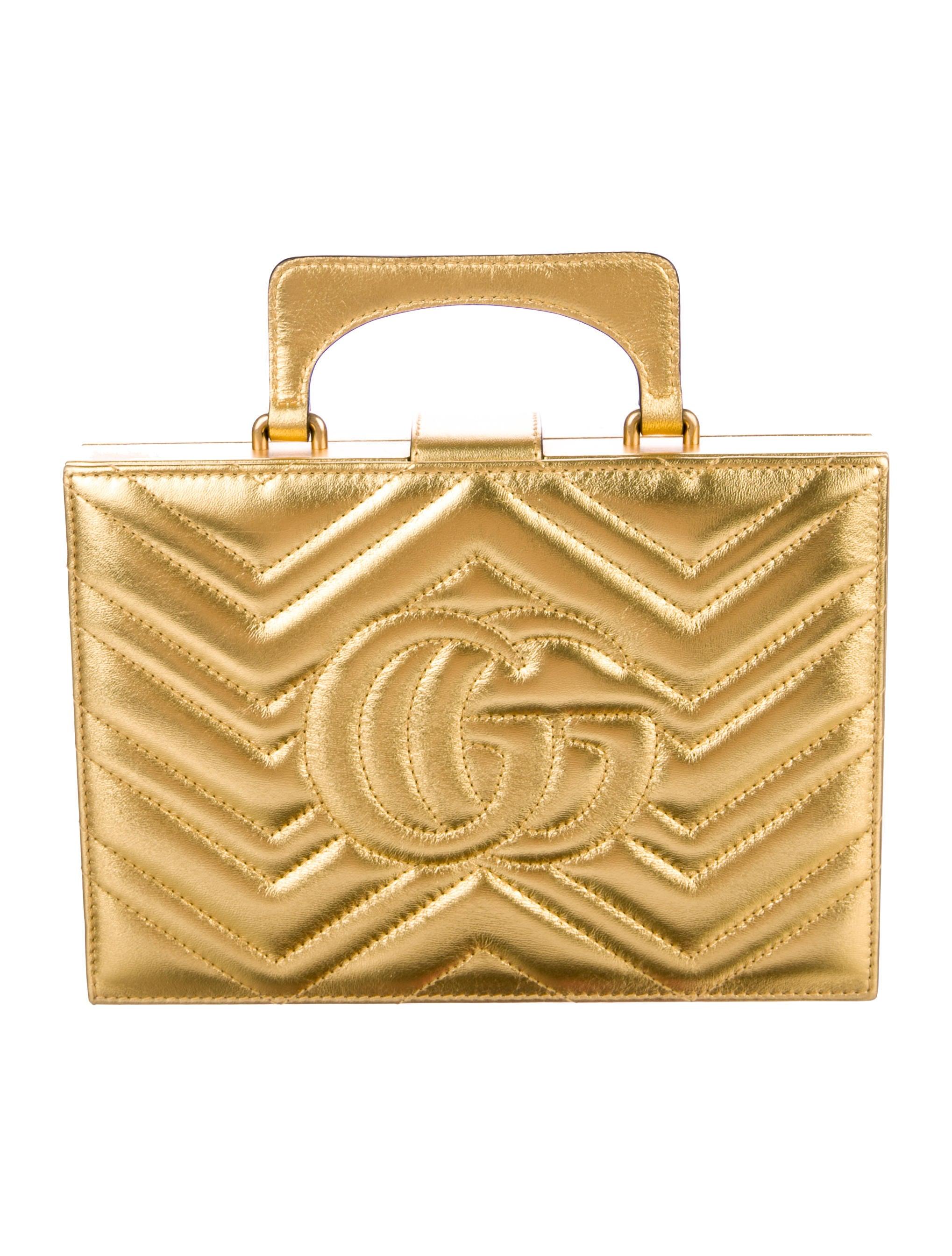 32b0a0d252 Gucci Broadway Matelassé Chevron Bag - Handbags - GUC210117 | The ...