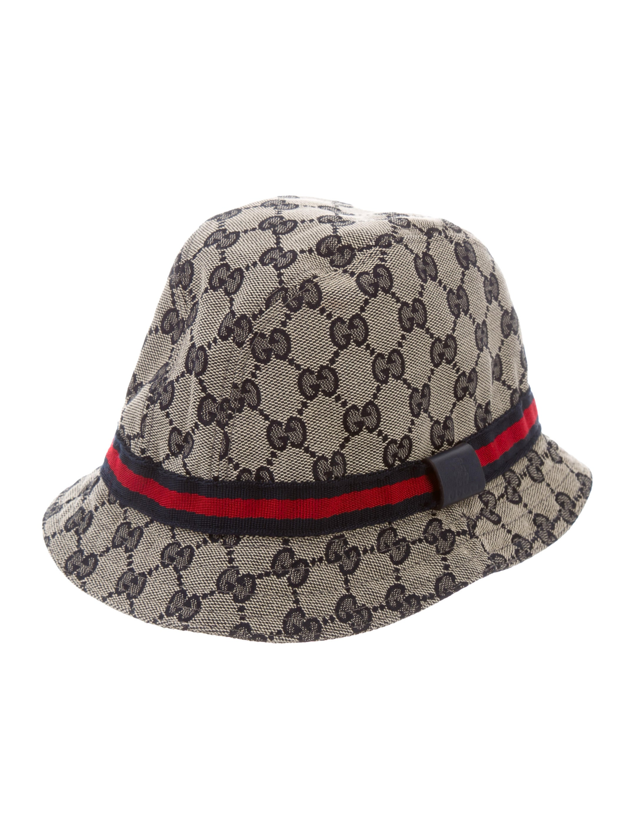 Gucci Girls  GG Canvas Hat - Girls - GUC210623  71f64936985